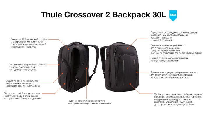 Рюкзак Thule Crossover 2 Backpack 30L C2BP-116
